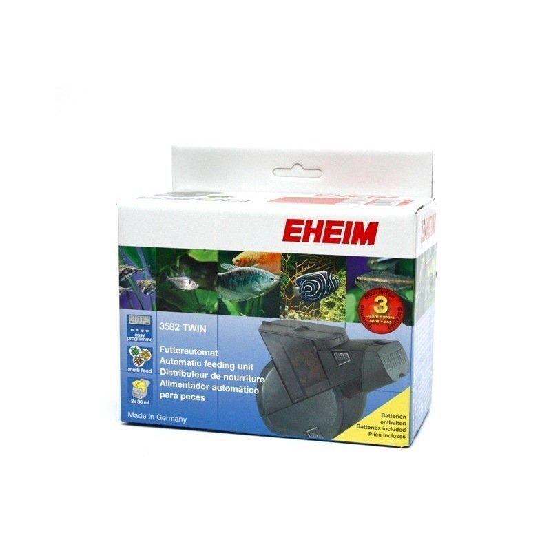 Eheim twin distributeur automatique de nourriture for Alimentation automatique aquarium