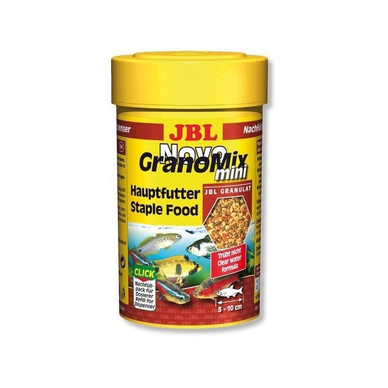 Nourriture pour poissons aquarium jbl novogranomix mini for Nourriture poisson rouge jbl