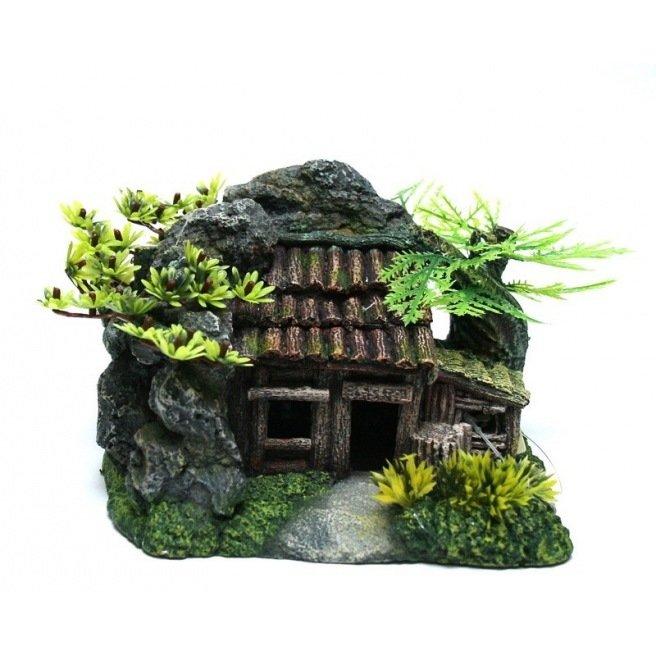 Maison camouflage 23x17x14cm 411568
