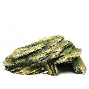 Pierre vert mousse 20cm 104552