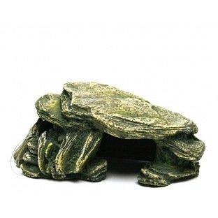 Pierre vert mousse 15cm 104545