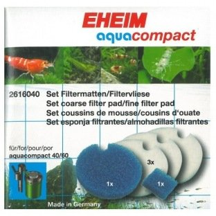 Eheim 2616040 Compact : kit mousses