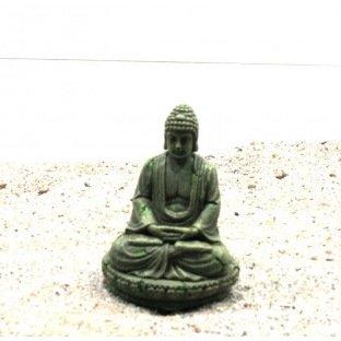 Decor Bouddha Bayon Aqua Della 9x8x12cm