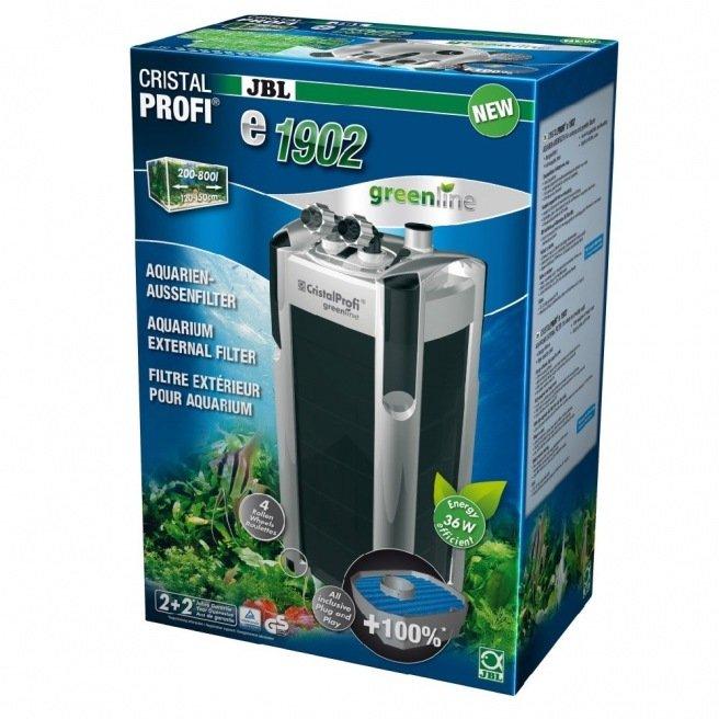 Jbl cristalprofi s rie e2 greenline filtre ext rieur for Filtre exterieur pour aquarium