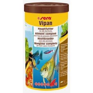 Menu complet Sera Vipan pour poissons d'eau tempérée