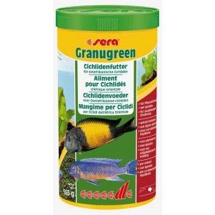 Sera Granugreen - Alimentation pour cichlides herbivores