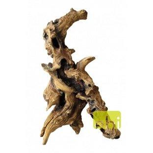 Racine synthétique Mopani Wood Aqua Della 27x19x45cm ref 421147
