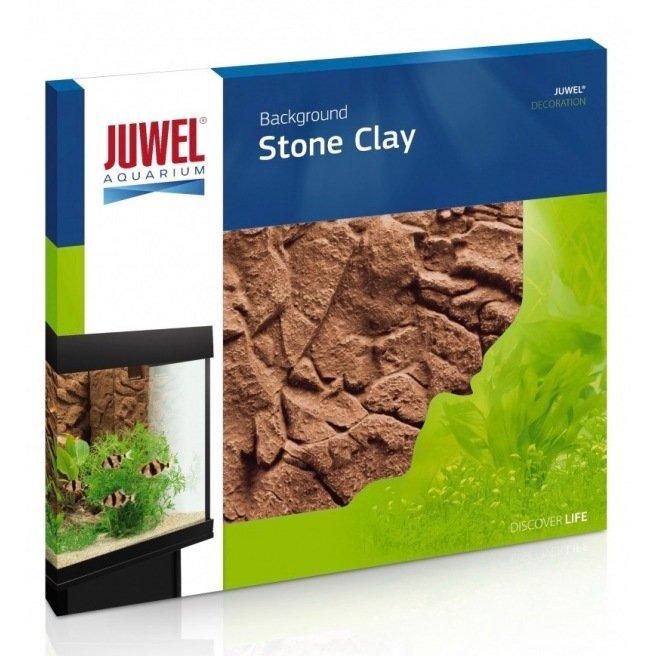 Décor 3D - Juwel Stone Clay - Plaque de fond et couvre filtre