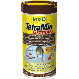 Nourriture en granulés TétraMin pour poissons exotiques