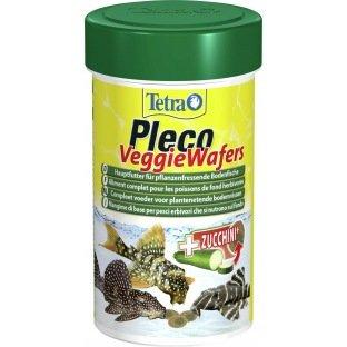 Aliment complet pour poissons de Fond : Tetra Pleco Veggie wafers
