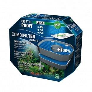 Kit de remplacement de masses filtrantes pour filtres extérieurs JBL ChristalProfi : JBL Combi Filter Basket II
