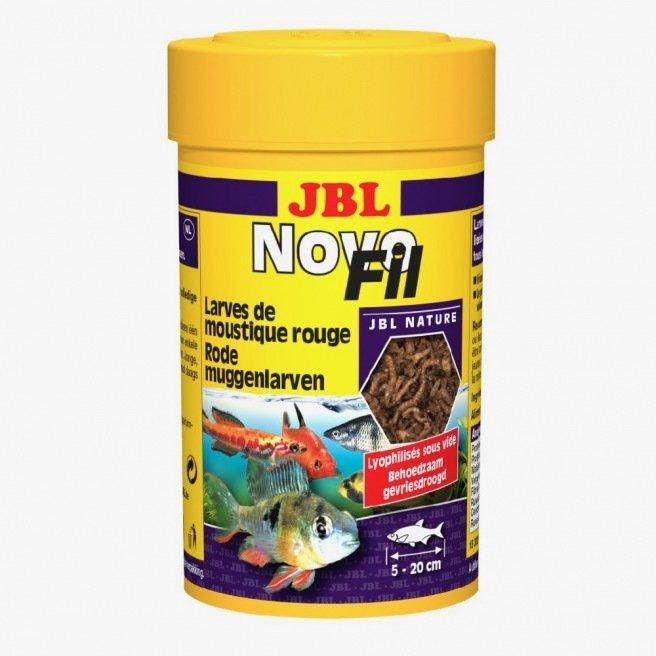 Friandise pour bac d 39 eau douce jbl novofil larves de for Nourriture poisson rouge jbl