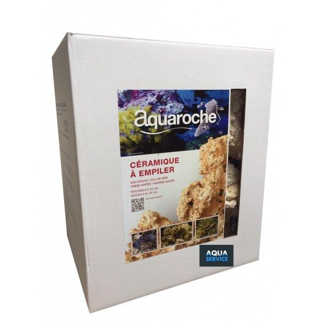Aquaroche céramique à empiler en carton