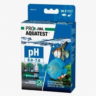 Test en gouttes & recharge pour le pH entre 6 et 7,6 - JBL pH test 6-7,6