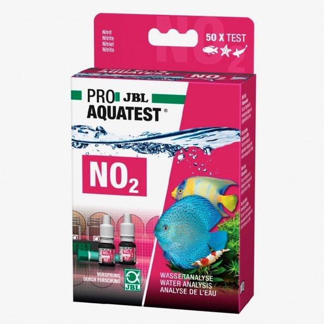 Test en gouttes & recharge pour les nitrites - JBL NO2 test