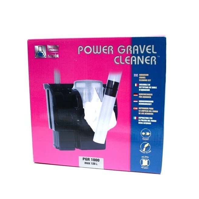 Aspirateur de fond pour aquarium newa power gravel for Aspirateur fond aquarium