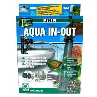 JBL Aqua In Out - Set complet qui permet de vidanger et de remplir l'eau de l'aquarium